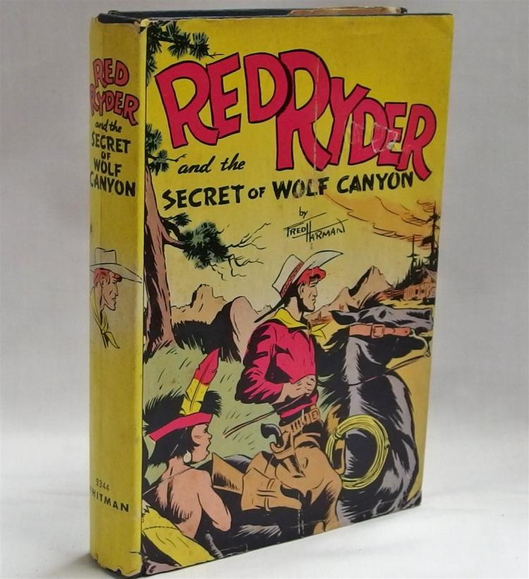 Book – 1941 RED RYDER The Secret of Wolf Canyon, #2344