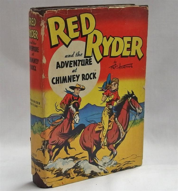 Book – 1946 RED RYDER The Adventure at Chimney Rock, #2318