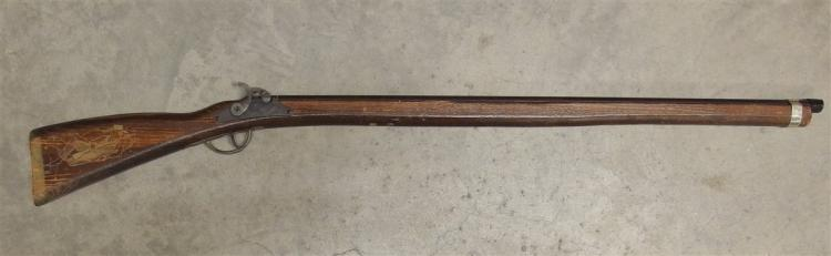 Toy Rifle – Kentucky Flintlock Rifle by Parris Mfg. Co. Hillbilly on stock