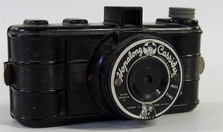 1940 HOPALONG CASSIDY 120mm Camera by the Galter Products Co.