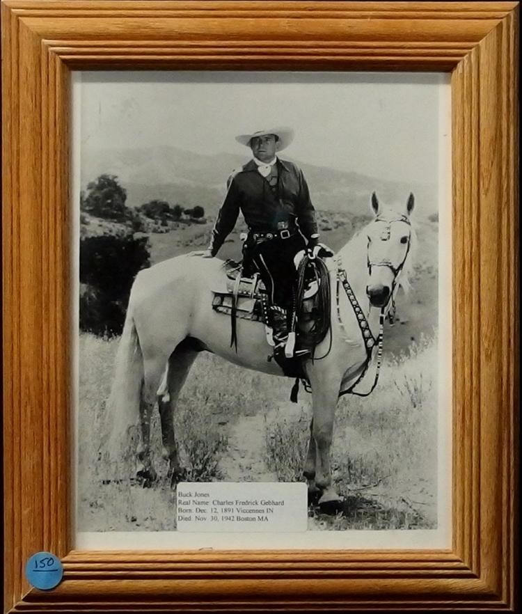 Western Movie Star Photo - BUCK JONES , 8x10 B&W Glossy