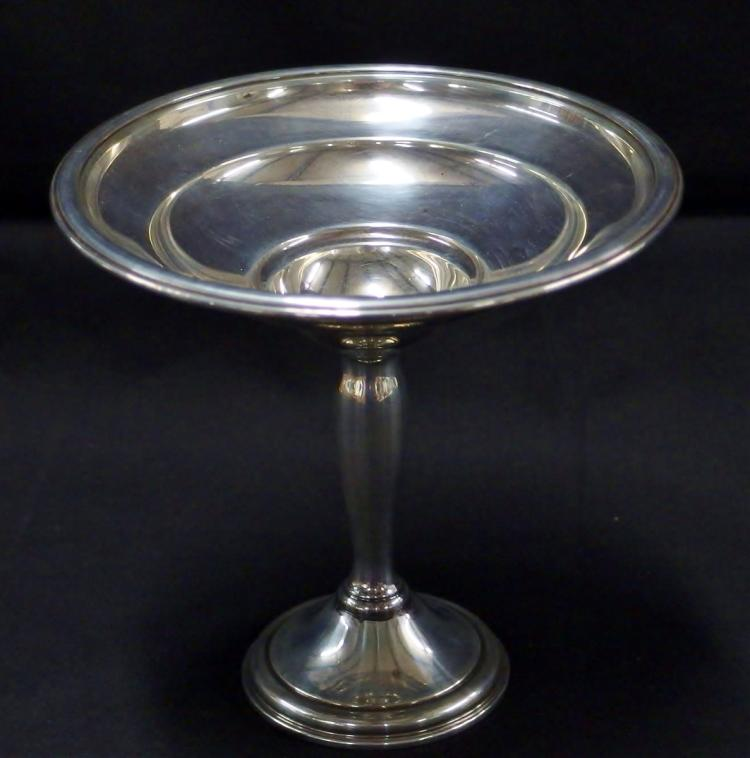 International STERLING Compote, 'Berkeley' Pattern T209, Weighted, 262g