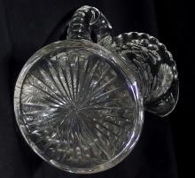 Lot 19: American Brilliant Cut Crystal Water Pitcher, 10-1/2H