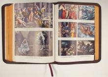 Lot 20: 1952 Leather & Gilded 'The Holy Bible', Consolidated Book Publ. Chicago
