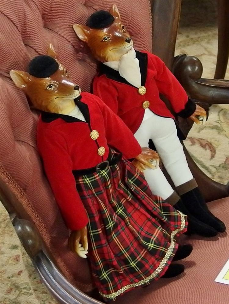 Fox Hunter Dolls, Smithsonian Catalog