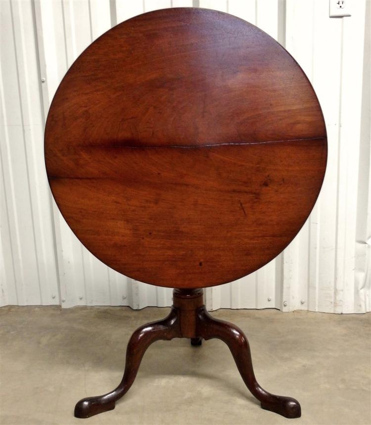 Ca. 1730 Tilt-Top Table
