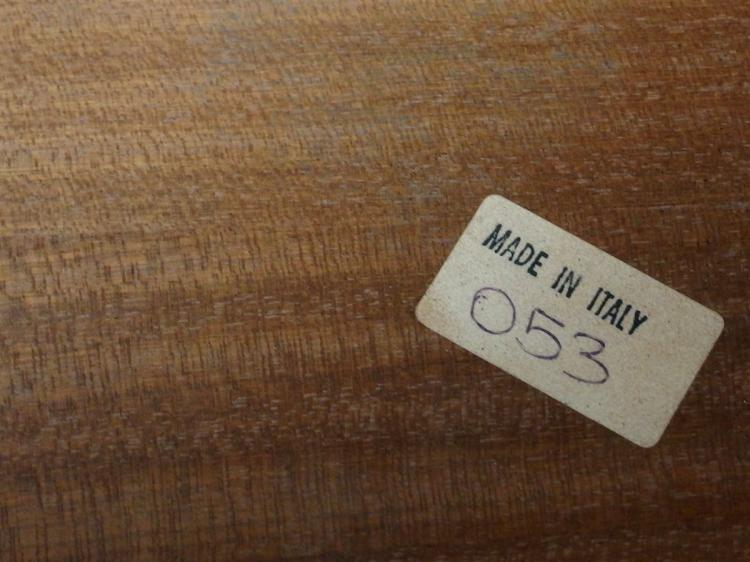 Lot 53: Italian Sofa Table with Cabriole Legs