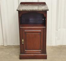 Lot 60: Antique Marble Top Stand