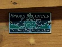 Lot 63: Vintage Cedar Chest by Smokey Mountain Line, The Rule Co. Knoxville TN