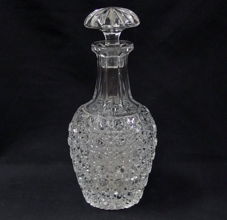 Crystal Baluster Decanter, 11H