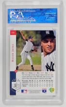 Lot 101: 1993 Topps Derek Jeter Foil Baseball Card PSA Slab, Graded 10