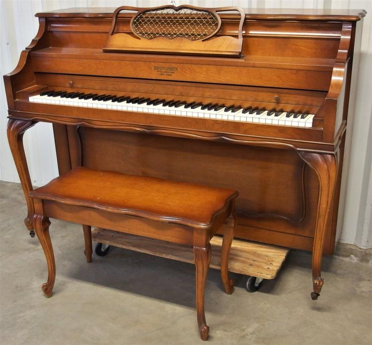 1960's Shoninger Piano with bench