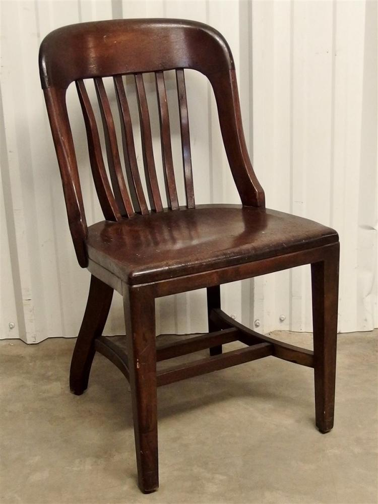 Oak Banker's Office Chair