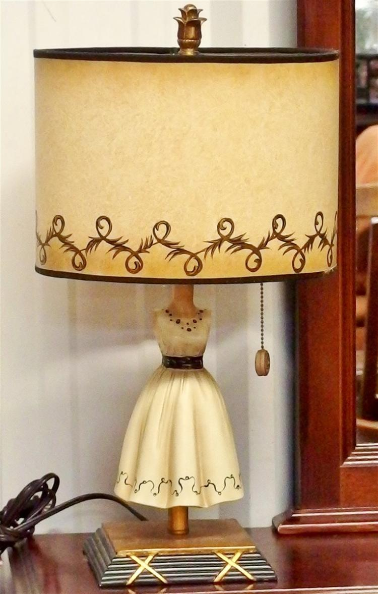 Lot 108A: Dress Lamp, 21H