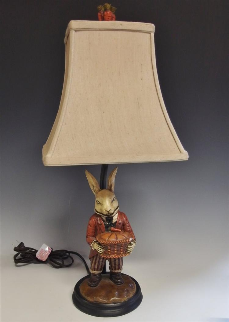Bunny Rabbit Lamp, 21H