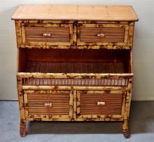 Lot 166: Bamboo Stand with Four Drawers