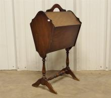 Lot 167: Vintage Martha Washington Sewing Stand