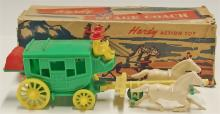 Lot 24: Vintage Hardy Stage Coach No. 23 with Original Box, 9""