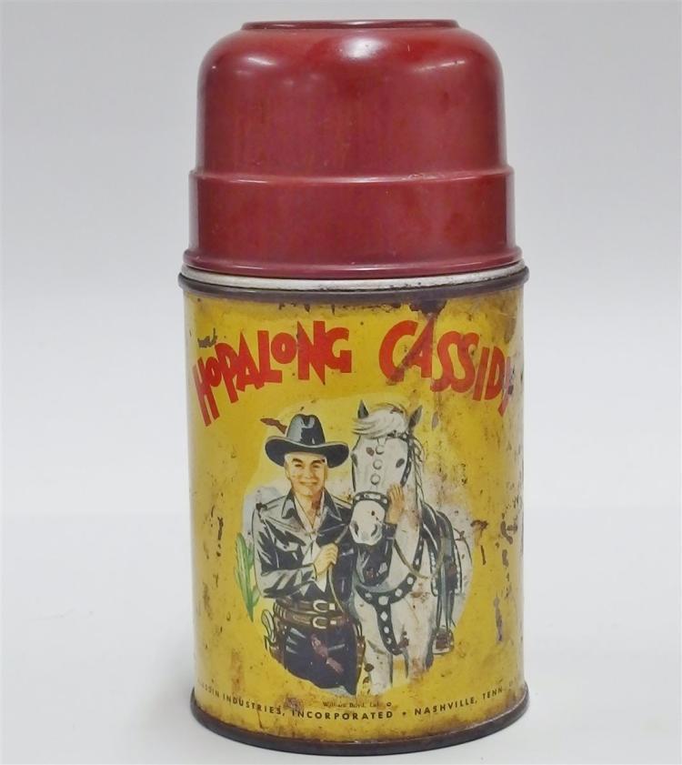 1952 HOPALONG CASSIDY Thermos, Aladdin