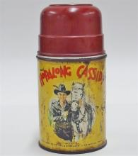 Lot 47: 1952 HOPALONG CASSIDY Thermos, Aladdin