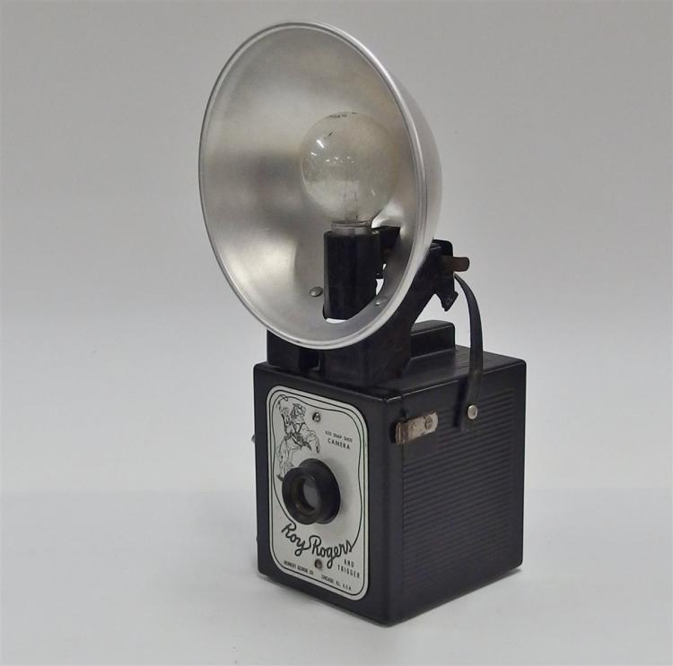 Lot 64: Ca. 1950's ROY ROGERS AND TRIGGER Flash Camera by Herbert George Co.