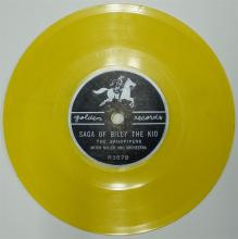 Lot 89: Golden Record 78 WYATT EARP THEME SONG / Saga of BILLY THE KID, Yellow Vinyl R357.