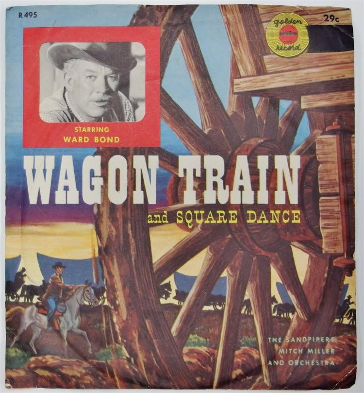 Golden Record 78 WAGON TRAIN / SQUARE DANCE, R495