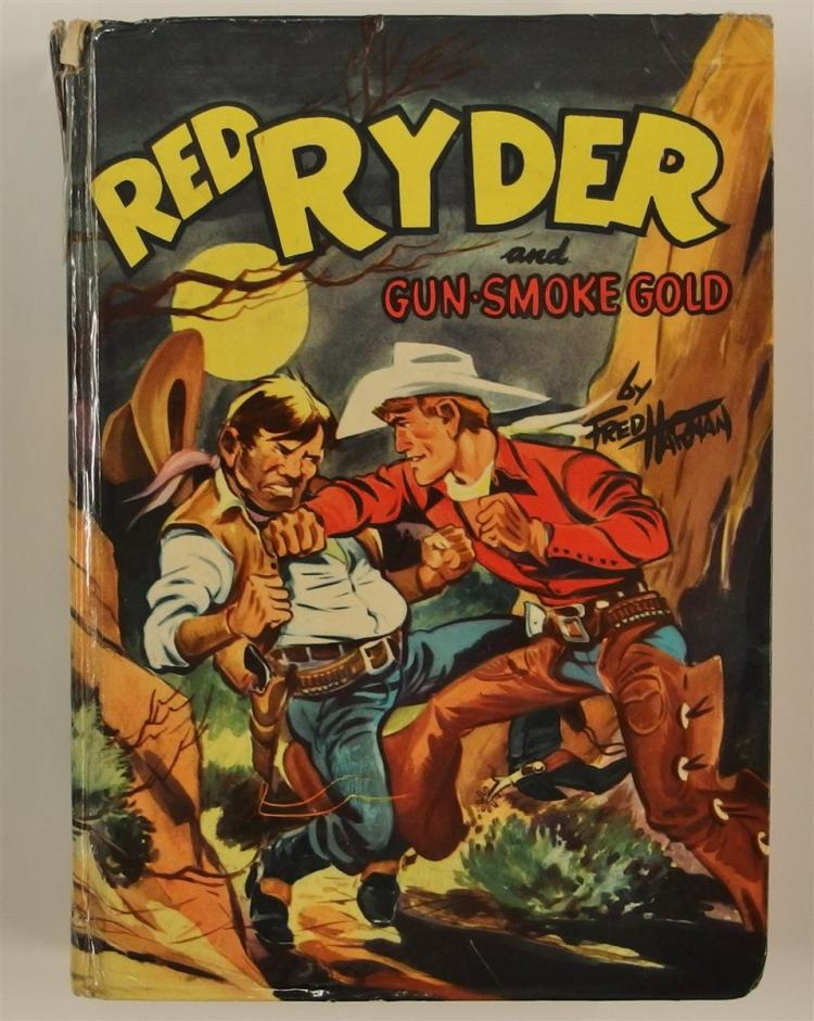 Chapter Book: RED RYDER & Gun-Smoke Gold by Jerry McGill, 1954