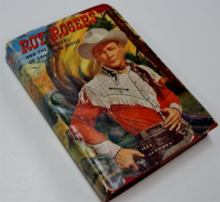 Chapter Book: ROY ROGERS and the Raiders of Sawtooth Ridge by Snowden Miller,1946