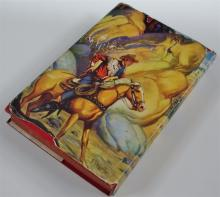 Lot 100: Chapter Book: ROY ROGERS and the Raiders of Sawtooth Ridge by Snowden Miller,1946
