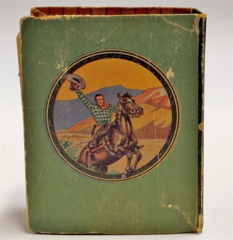 Lot 102: The Big Little Book: TOM MIX in the Fighting Cowboy, #1144
