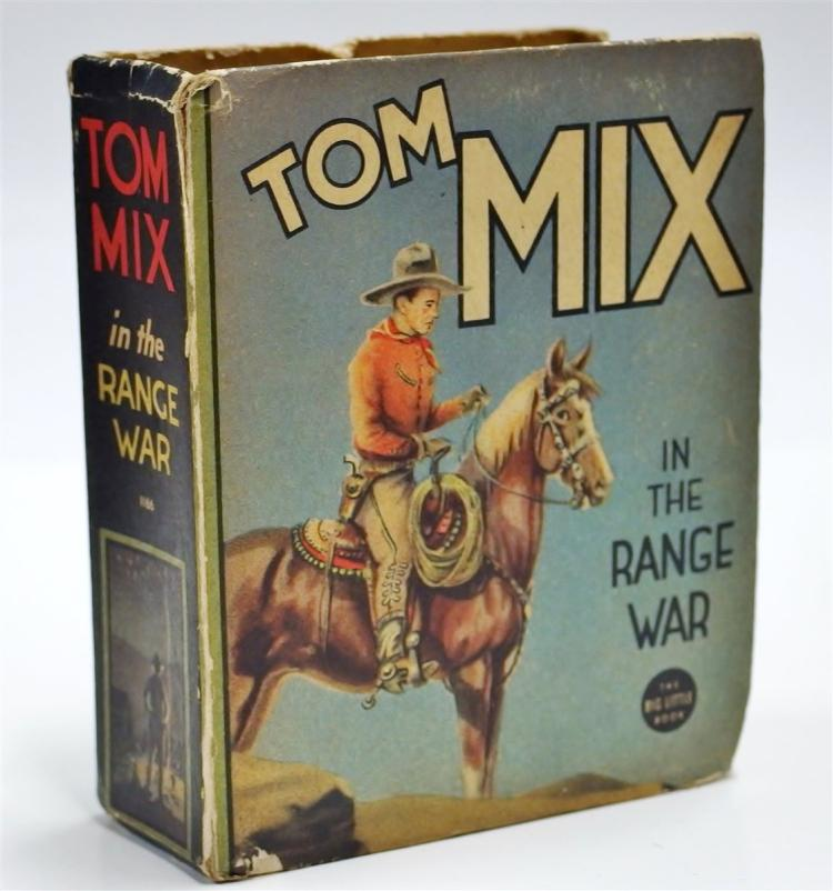Lot 103: The Big Little Book: TOM MIX in the Range War, #1166
