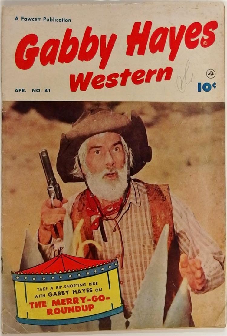 GABBY HAYES Western 1952 #41  Fawcett Comic Book