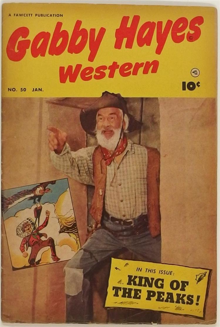 GABBY HAYES Western 1953 #50 Fawcett Comic Book
