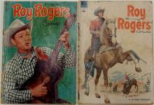Lot 131: 2 ROY ROGERS Western - 1952 Vol 1 # 59 - 1954 Vol 1 #76 - Dell Comic Books