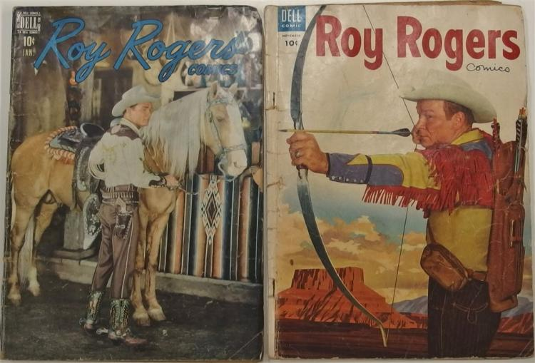 2 ROY ROGERS Western - 1949 Vol 1 #13 - 1954 Vol 1 #83 - Dell Comic Books