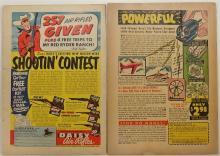 Lot 136: 2 Western Comic Books - TEX RITTER 1952 Vol 2 #11 - JESSE JAMES 1952 Vol 1 #8 - Fawcett / An Avon Periodical