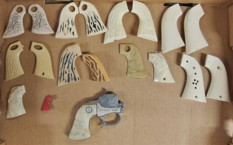Cowboy & Western Toy Cap Gun Parts - Grips