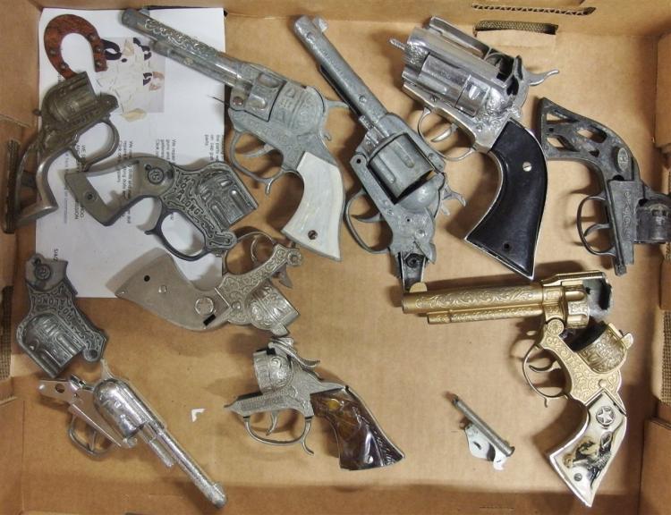 Cowboy & Western Toy Cap Gun Parts - Frames & Grips