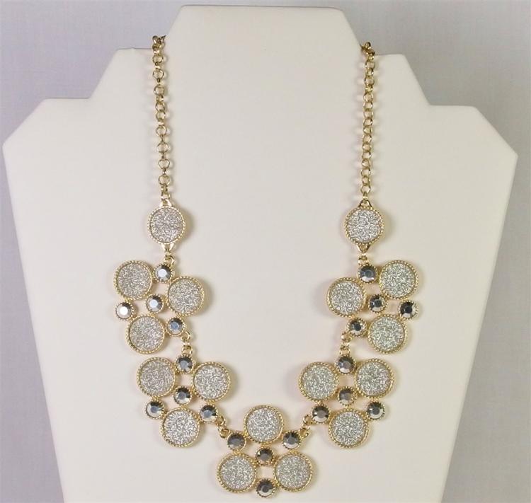"""NY Fashion Necklace, 17-1/2"""""""