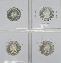 Lot 6: State Quarters 90% Silver Proof Set of 4