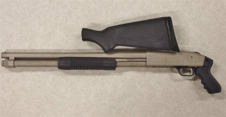 Lot 8: Mossberg 590 Mariner 12ga Pump Shotgun. Chambered for 2-3/4 or 3in. Shells