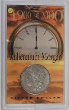 Lot 28: 1900 Millennium MORGAN SILVER DOLLAR