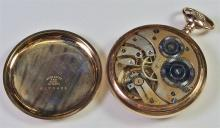 Lot 34: Gold Pocket Watch, Working