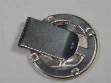 Lot 35: Buffalo Indian .999 One Ounce Silver Money Clip
