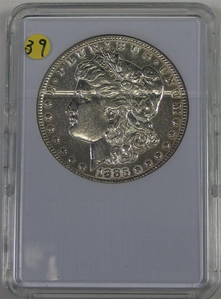 1883 MORGAN Silver Dollar in Case