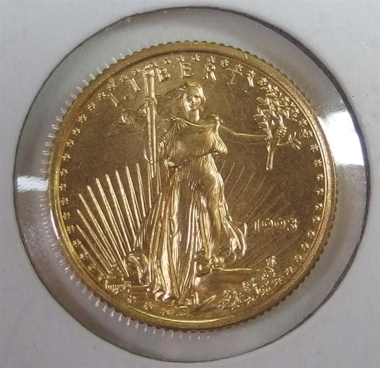 1993 Five Dollar ($5) GOLD EAGLE
