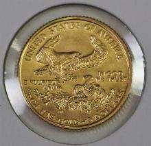 Lot 45: 1993 Five Dollar ($5) GOLD EAGLE