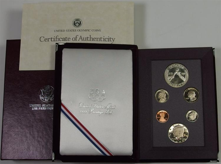 1988 Six Coin USA Proof Set