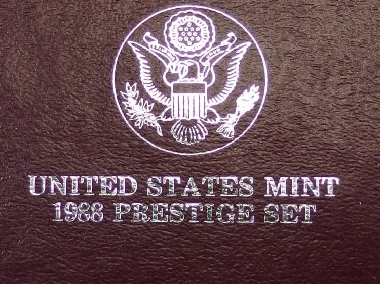 Lot 46: 1988 Six Coin USA Proof Set